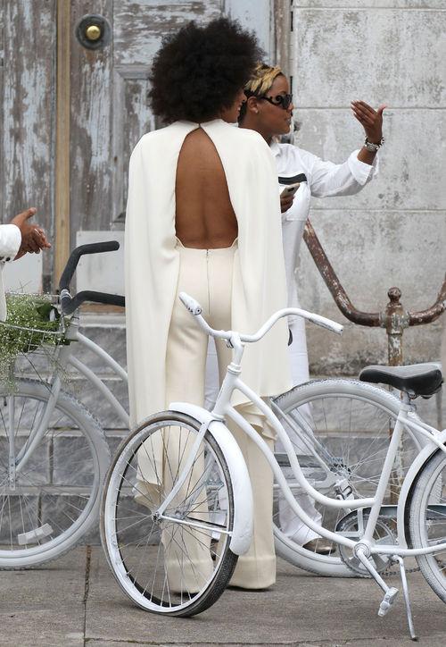 Solange Knowles Wedding Inspiration Fashionspot